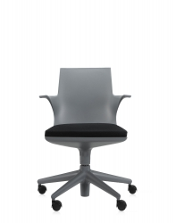 Spoon Chair - Grau/Schwarz