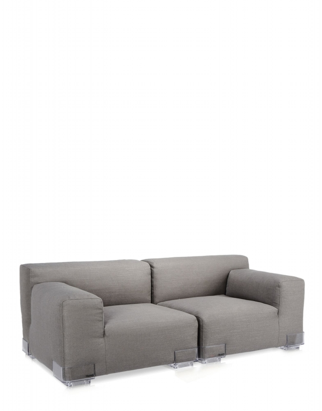 Plastics Duo Sofa 88 CM - Armlehne links - Grau
