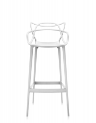 Masters stool 109 CM - Deckendes Weiss